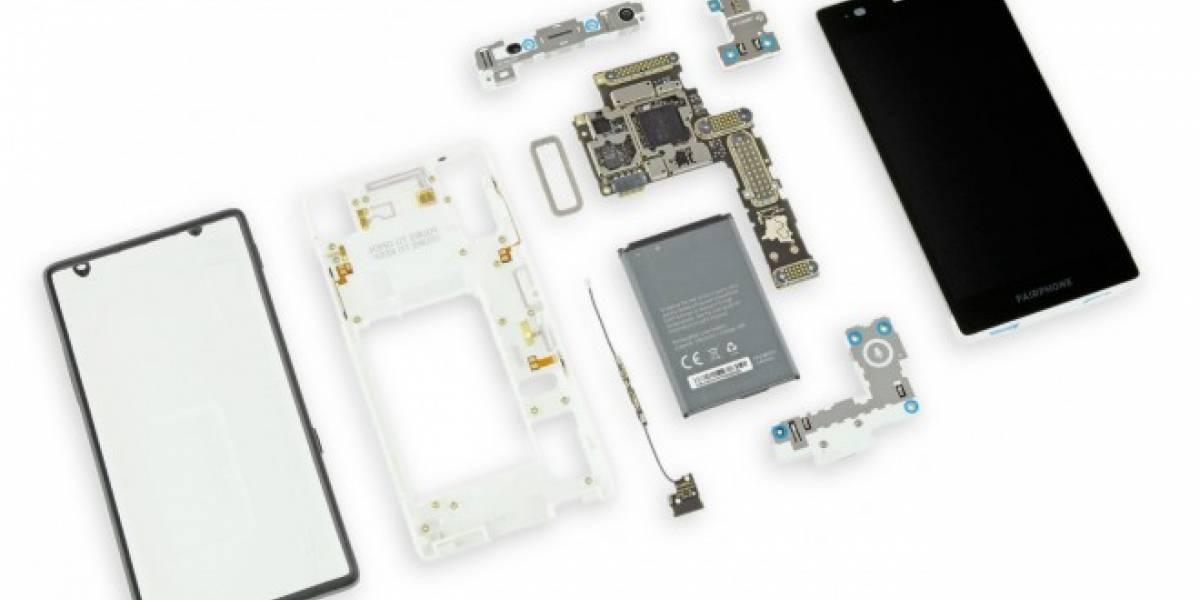 Fairphone 2, el teléfono modular que es muy sencillo de reparar