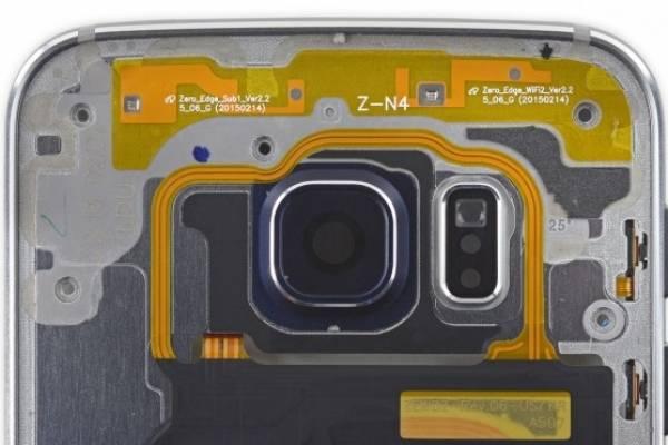 d20e7adf3ff La batería del Galaxy S6 Edge está adherida a la pantalla