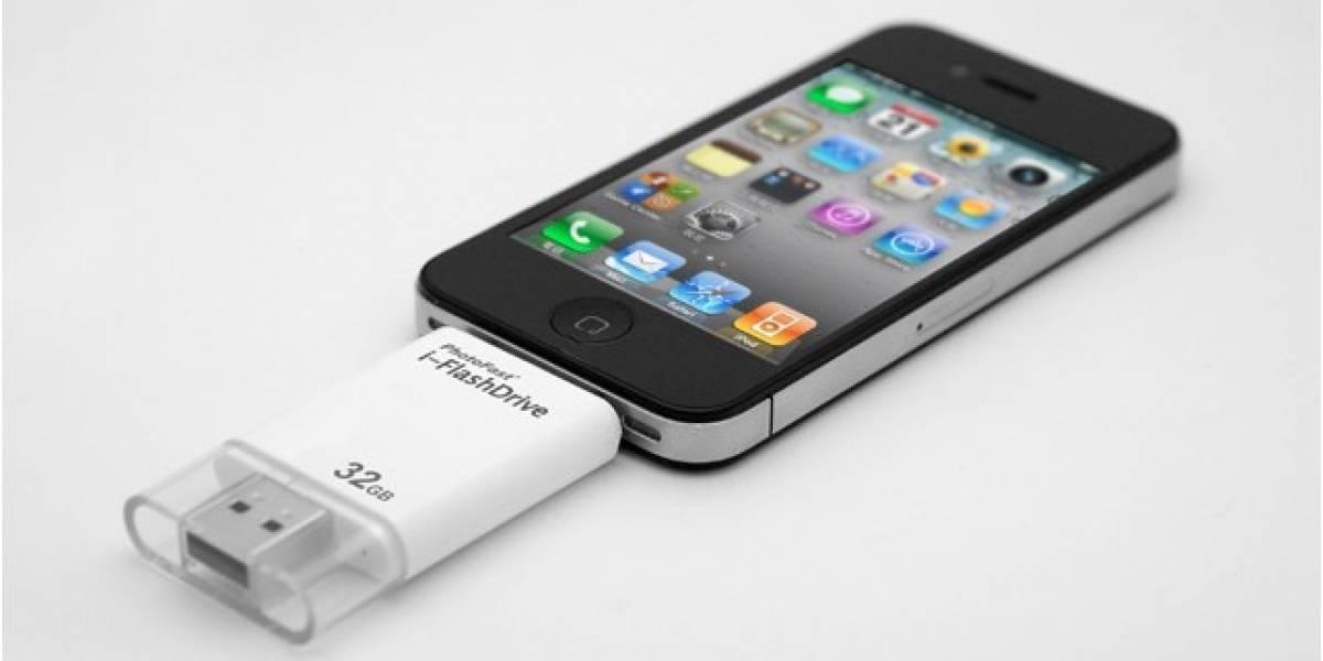 i-FlashDrive lleva el USB a tu dispositivo móvil con iOS