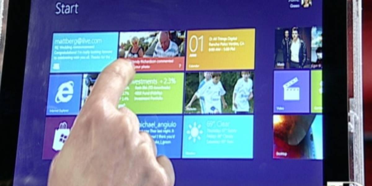 Steven Sinofsky presenta Windows 8 en D9 Conference