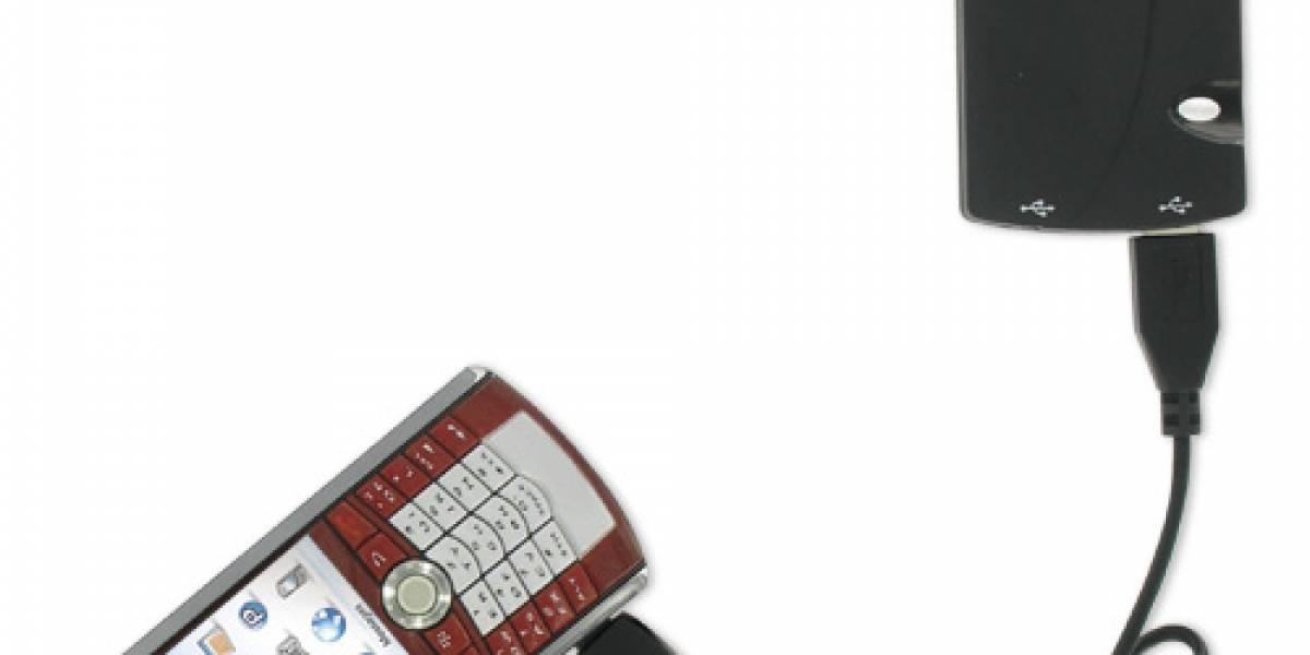 Europa: A la venta cargador portátil para múltiples dispositivos móviles