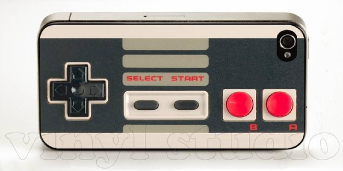 Skins de NES y Commodore para iPhone 4