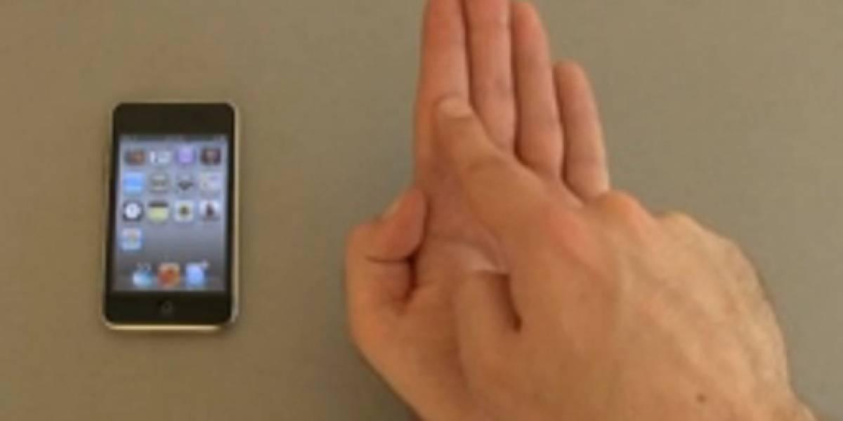 Investigadores alemanes trabajan en una interfaz invisible para los móviles
