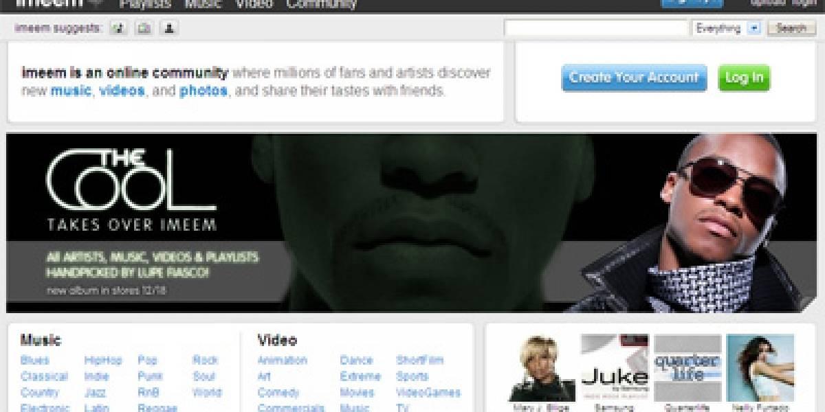 Imeem: El YouTube de los MP3 atrae a las grandes disqueras