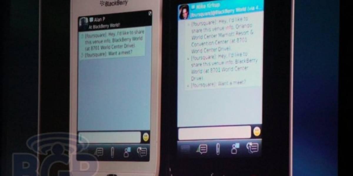RIM ha anunciado Foursquare para BBM