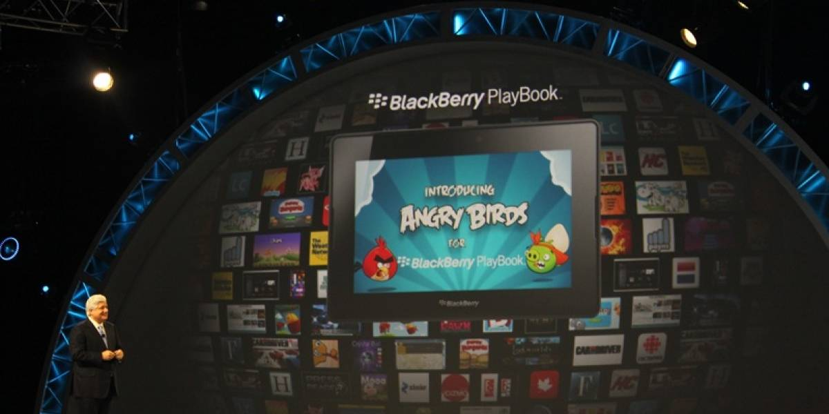 Angry Birds llegará a BlackBerry PlayBook
