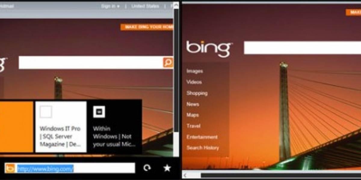 Filtran la posible interfaz de usuario de Windows 8 para tabletas