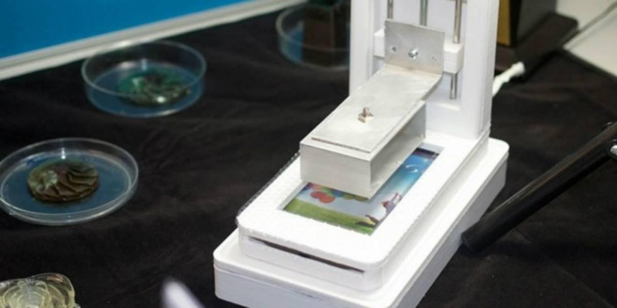 Esta impresora 3D sólo necesita un smartphone para funcionar