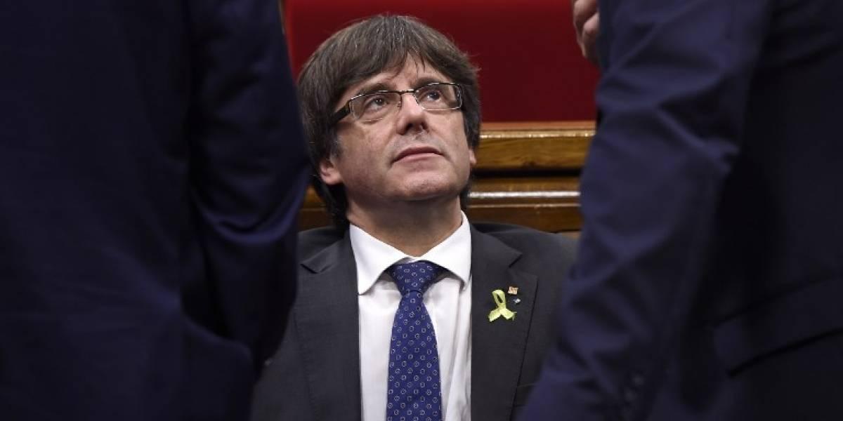 Incertidumbre sobre investidura de Puigdemont como presidente catalán