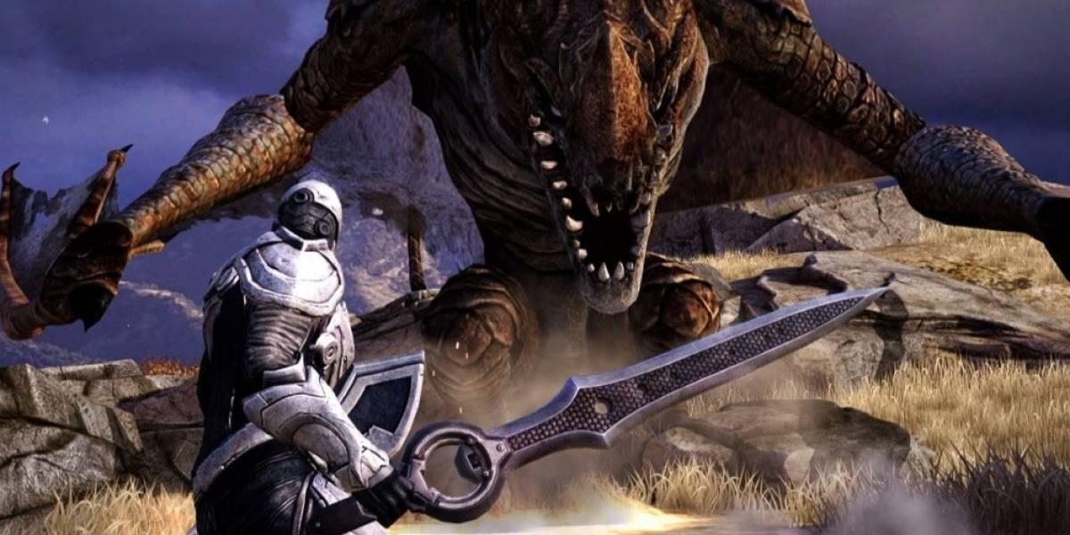 Infinity Blade Saga se lanzará en Xbox One