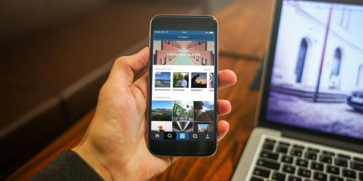 Instagram habilita el uso de múltiples cuentas a algunos usuarios de iOS