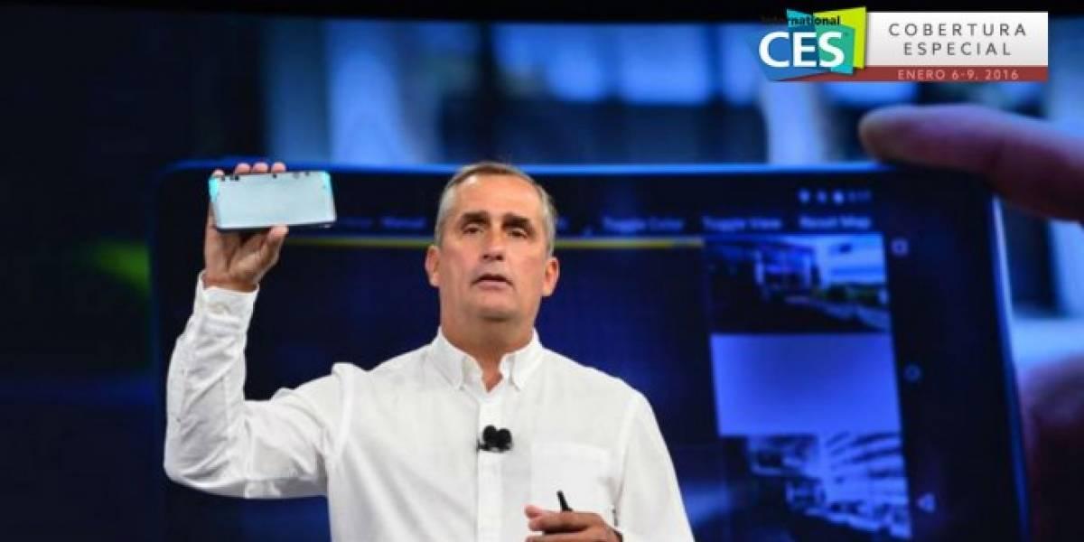 Intel lanza kit de desarrolladores para llevar RealSense a smartphones #CES2016