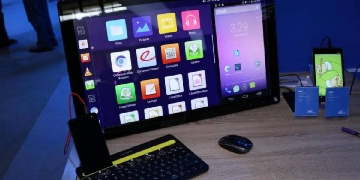 Intel muestra un prototipo de teléfono que puede correr Linux