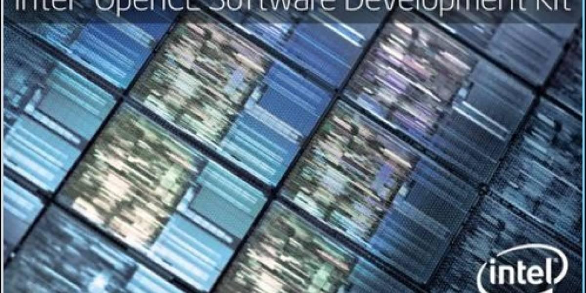 Intel lanza OpenCL 1.1 SDK Beta 2 con soporte AVX