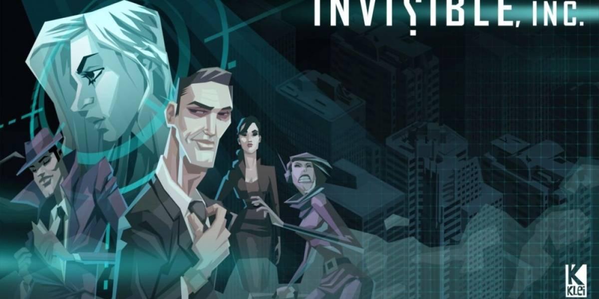 Invisible, Inc. ya tiene fecha en PC y se confirma también para PS4