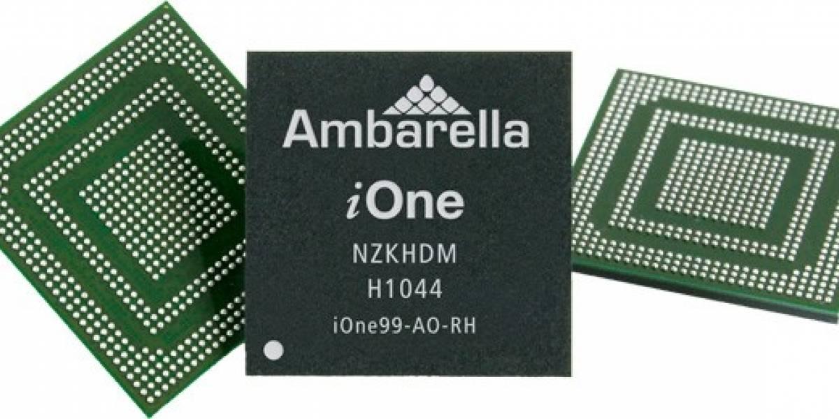 Lanzan chip ARM de tres núcleos + GPU para cámaras solamente