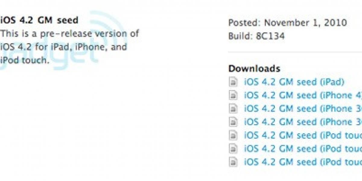 iOS 4.2 en tierra derecha, ya está disponible para desarrolladores