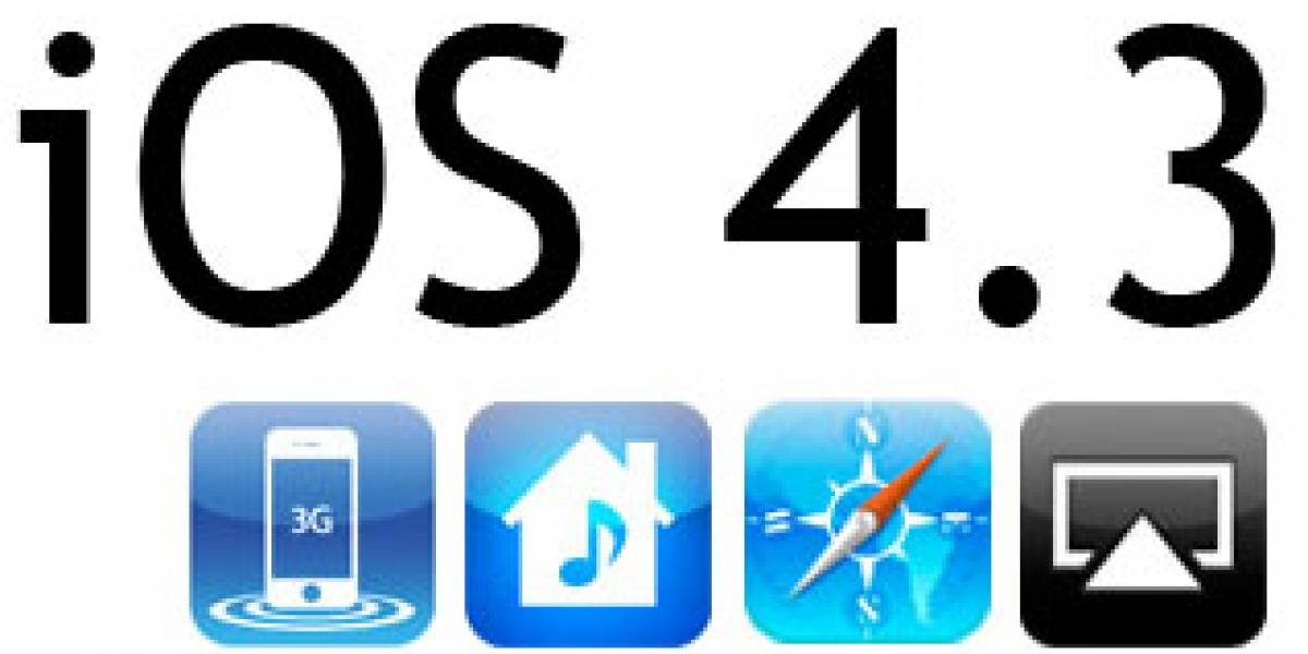 Ya está disponible iOS 4.3