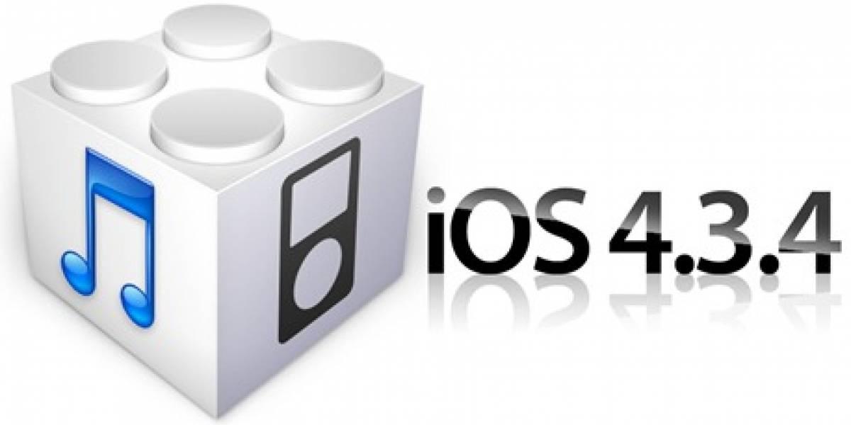 iOS 4.3.4 ya tiene Jailbreak en menos de un día