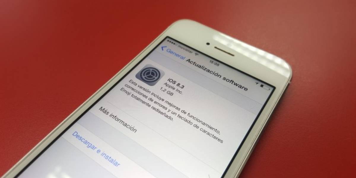 iOS 8.3 ya se encuentra disponible con importantes mejoras