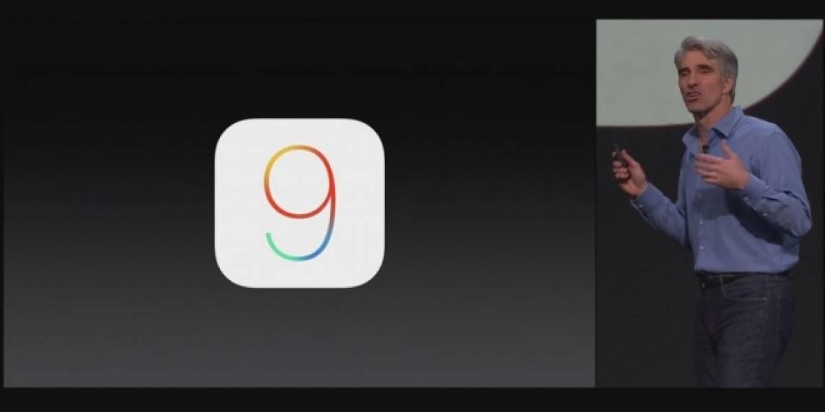 Estas son las principales novedades en iOS 9 que puedes descargar hoy