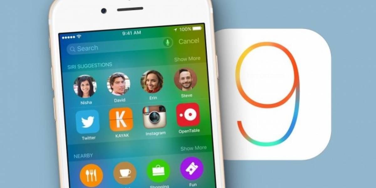 iOS 9 ya se encuentra en el 75% de los dispositivos Apple