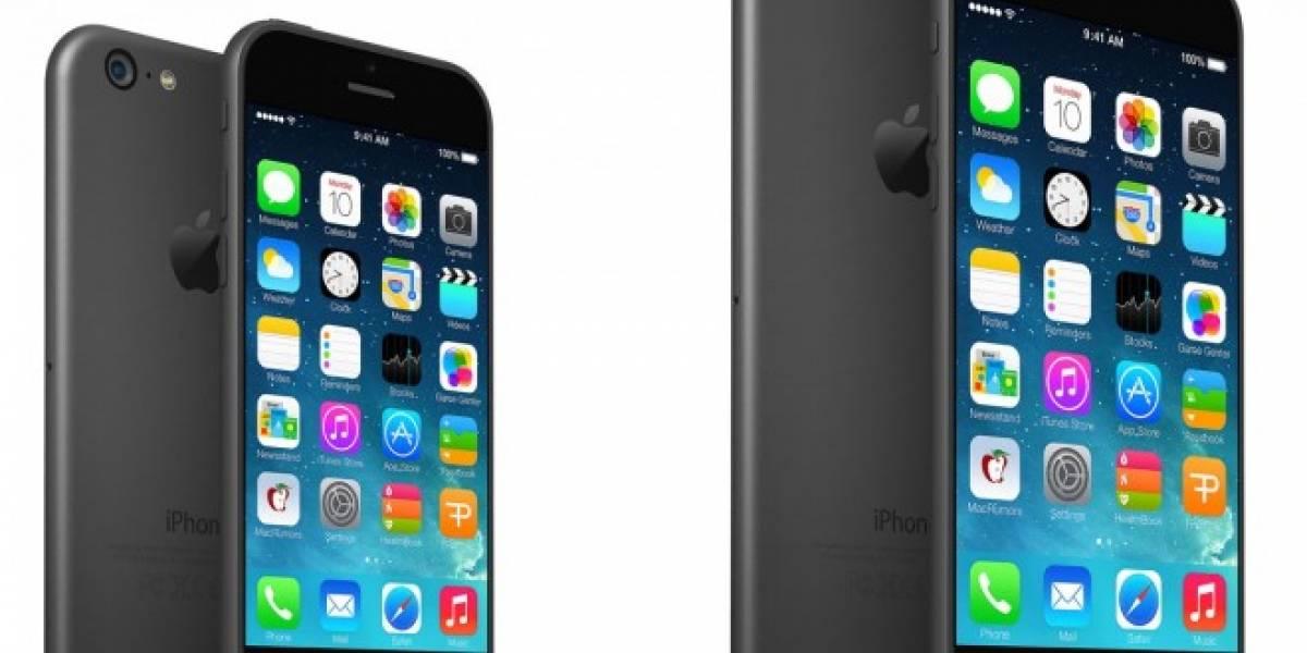 Revelan interesantes imágenes ficticias del iPhone 6 basándose en rumores