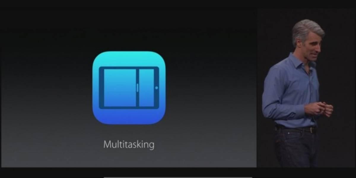 iOS 9 soportará multitarea así que podrás ejecutar varias aplicaciones a la vez #WWDC15