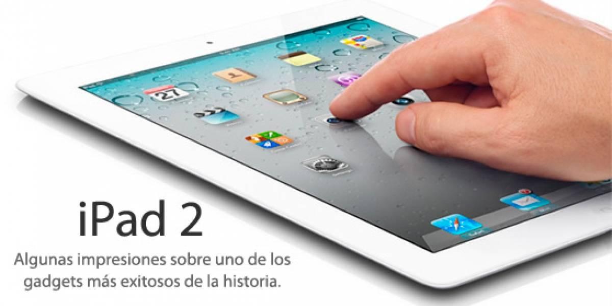 Apreciaciones sobre el iPad 2