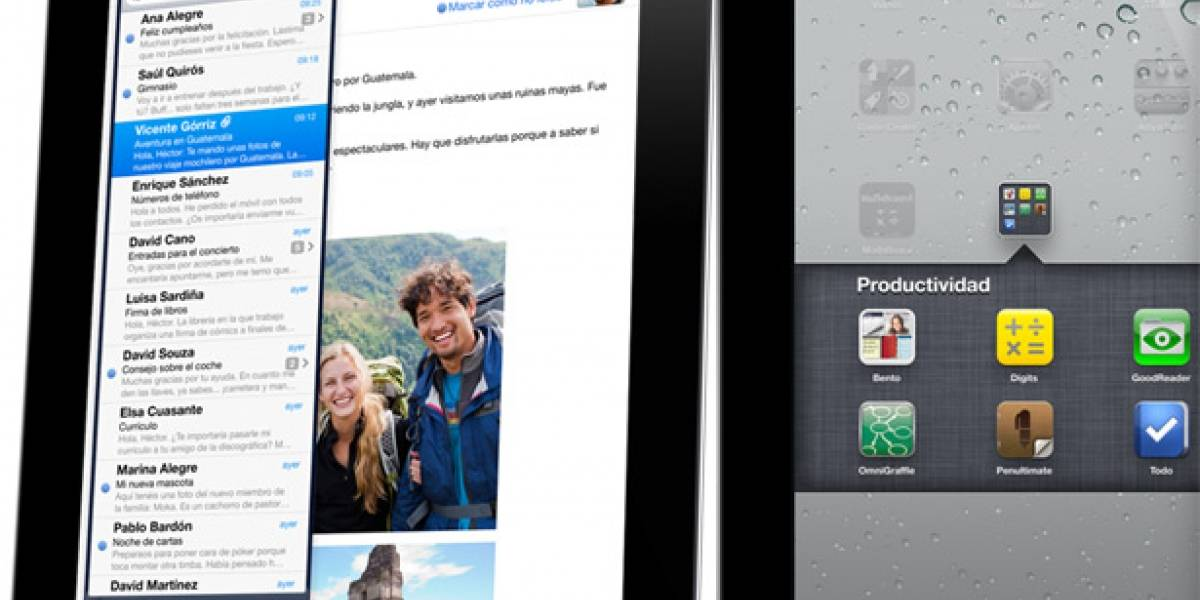 Apple nos enseña como manejar la iPad 2