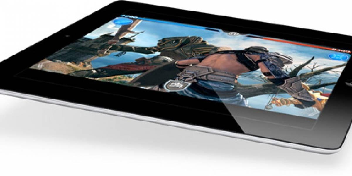 Ofertas de videojuegos para iPad e iPad 2