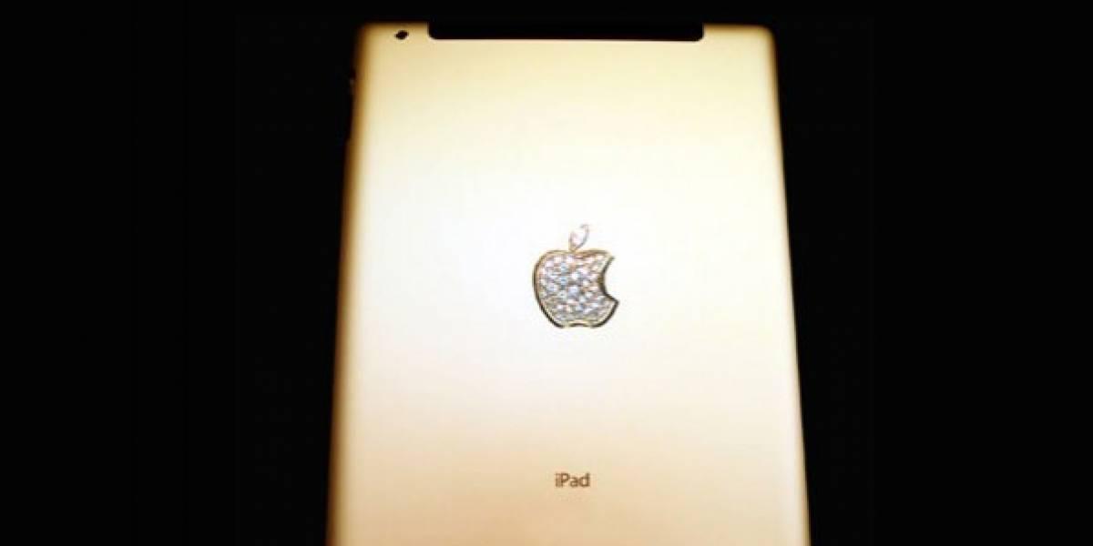 Un iPad 2 que (literalmente) vale oro
