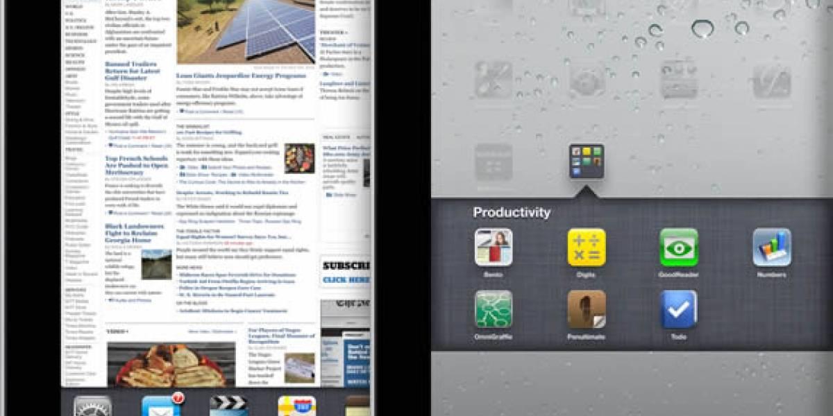 Hoy el iPad se gradúa de monstruo con la llegada de iOS 4.2