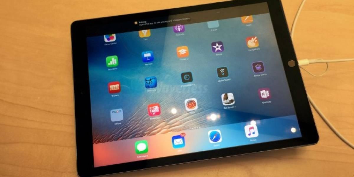 Treinta minutos con el iPad Pro