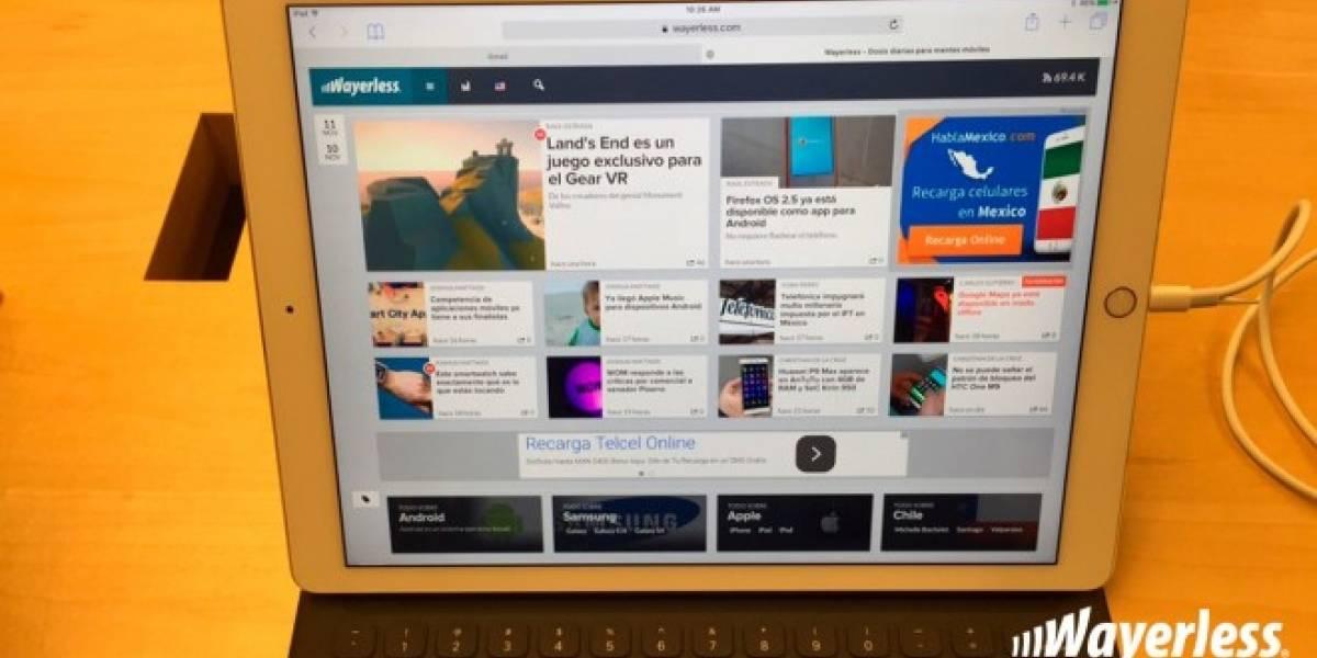 Estos son los precios de iPad Pro en México