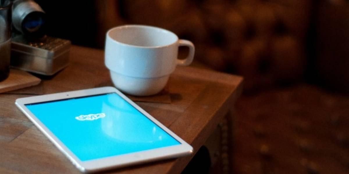 Ahora puedes aprovechar Skype en iPad con sus características de multitarea