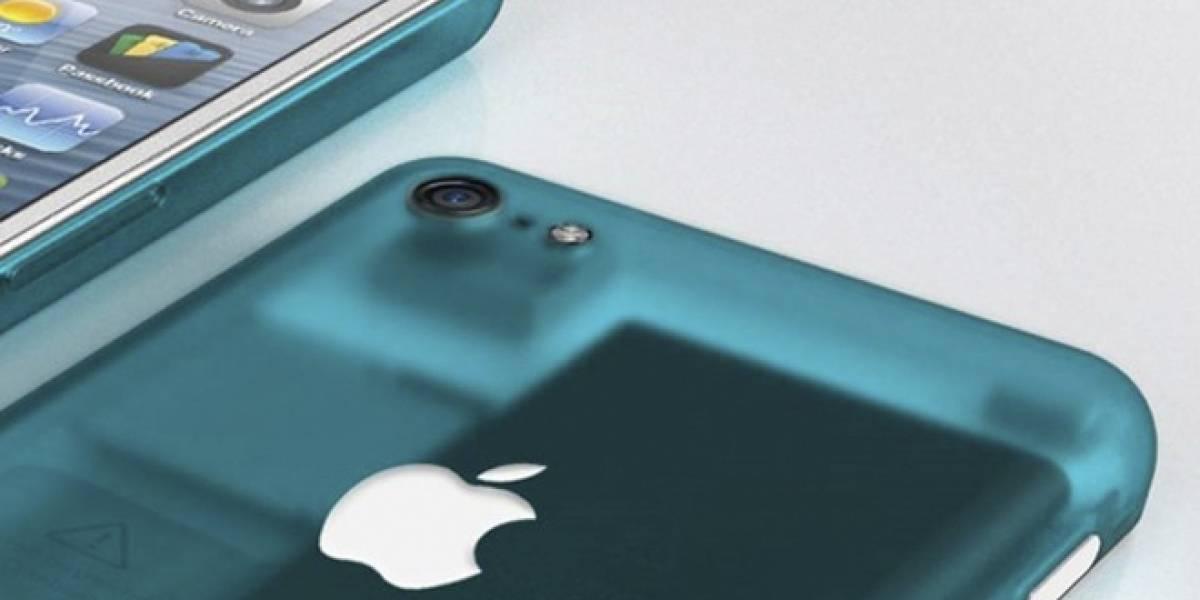 Diseñador crea interesante concepto de cómo podría ser el iPhone plástico de bajo costo