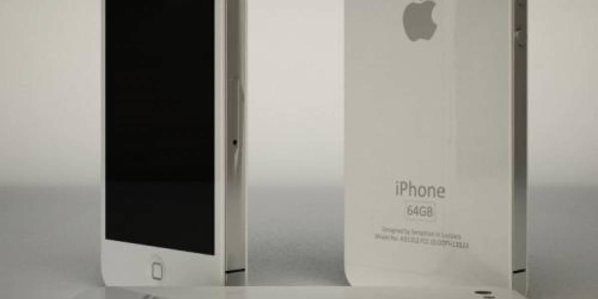 Futurología: Apple lanzaría el iPhone blanco en febrero