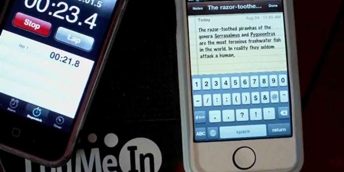 Usuario de iPhone 4 supera récord mundial del mensaje de texto más rápido