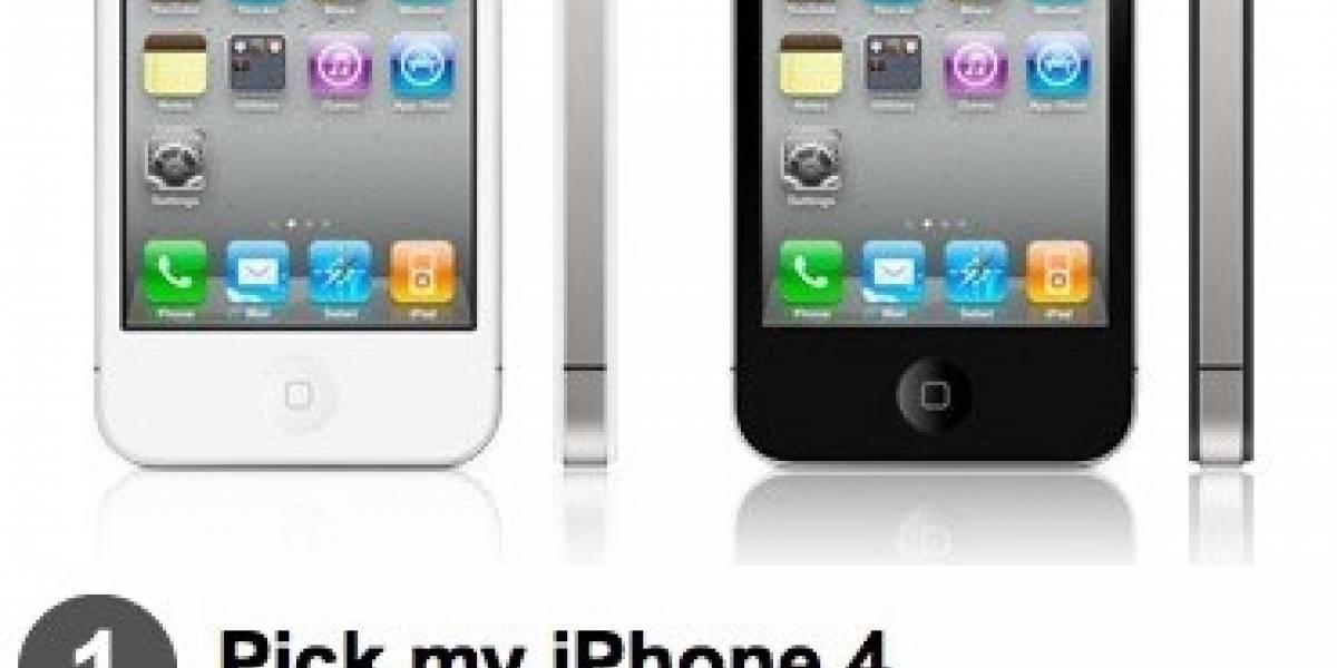 El iPhone 4 blanco a la venta hoy, ahora