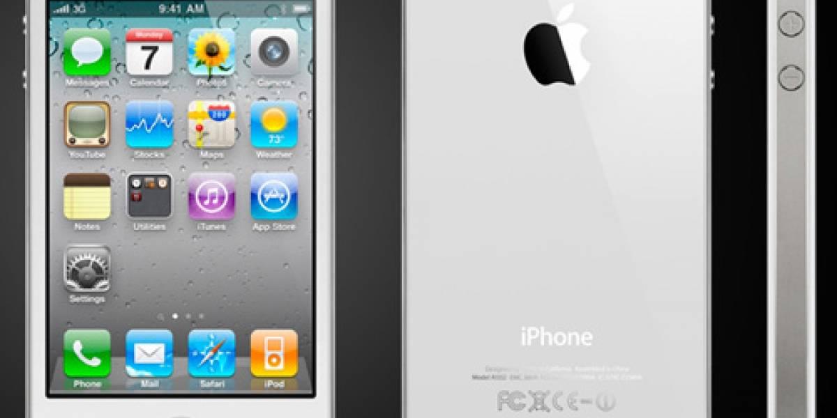 iPhone 4 blanco a la venta mañana, 28 de abril