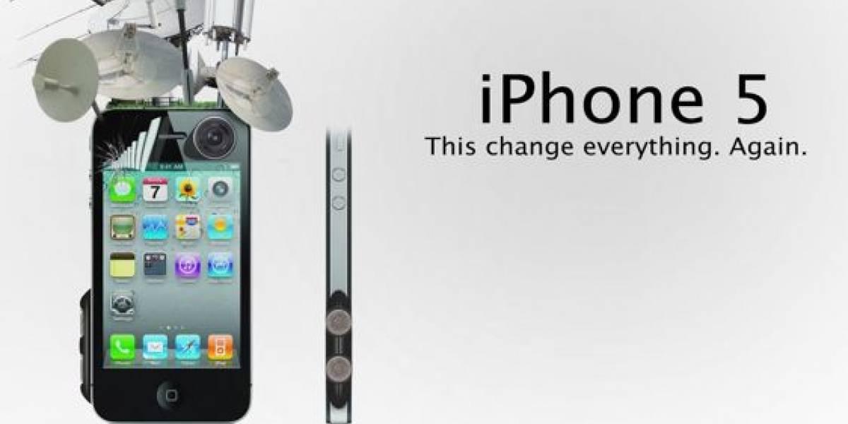 Lanzamiento del iPhone 5 se haría a finales de junio