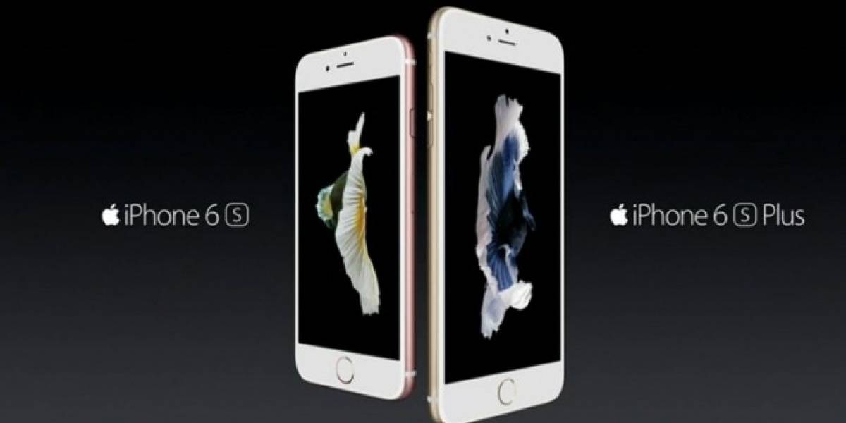 Apple anuncia el iPhone 6s y 6s Plus