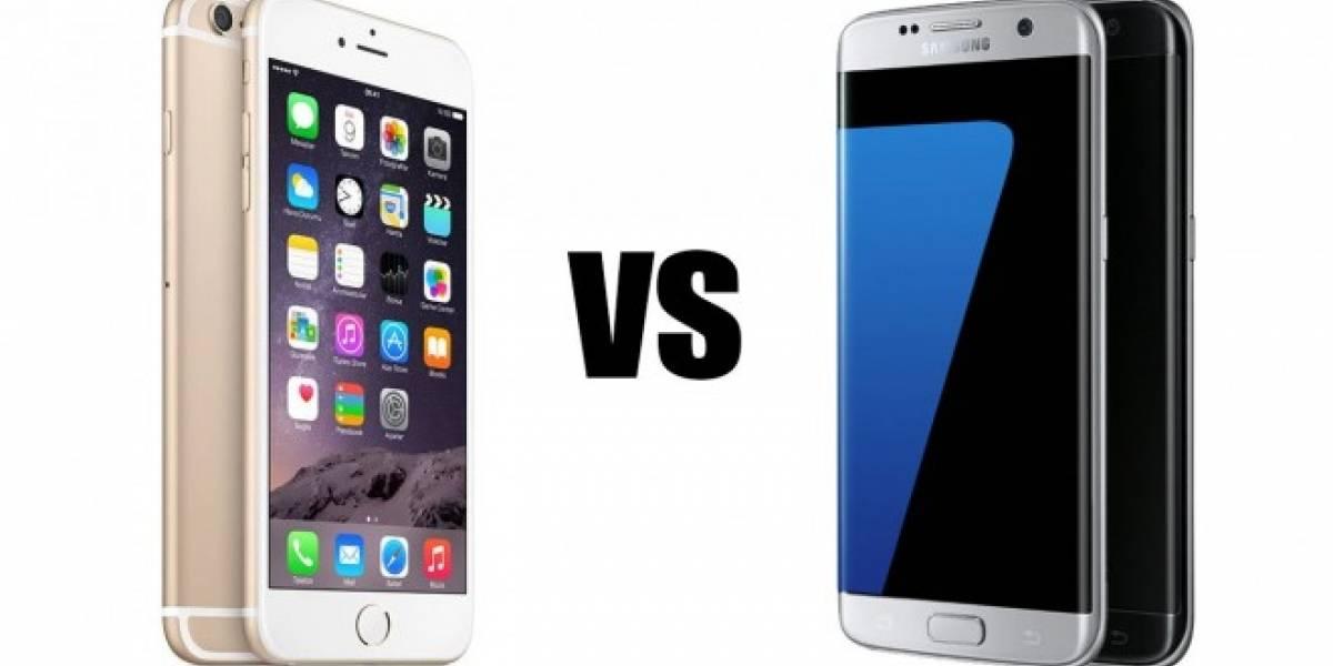 iPhone 6s Plus vence al Galaxy S7 edge en prueba de rendimiento