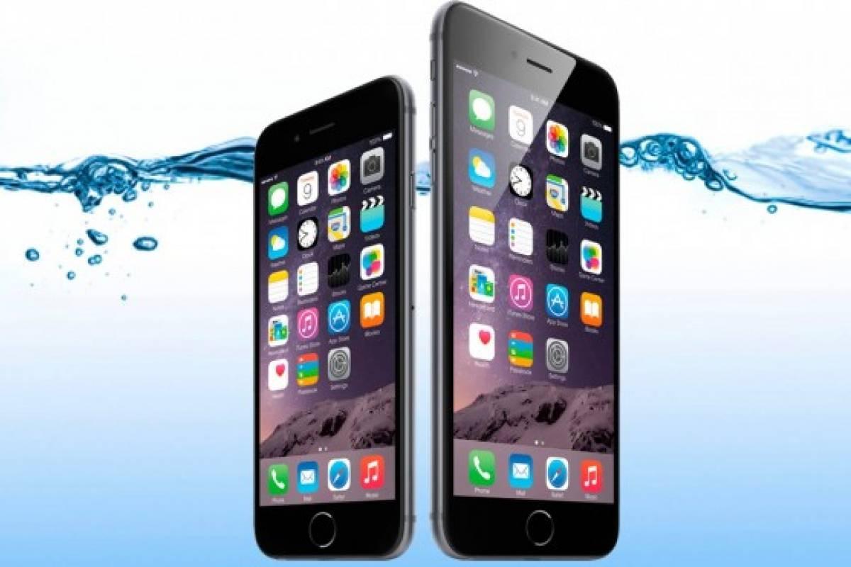 iPhone 6s y iPhone 6s Plus resultan ser prácticamente a prueba de agua