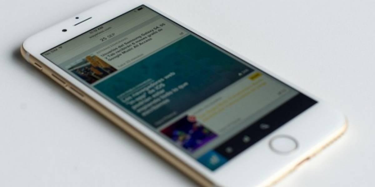 Error en Safari reinicia el navegador en dispositivos iOS y Mac