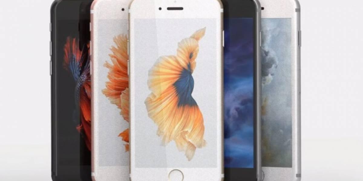 Apple patenta lector de huella dactilar bajo la pantalla