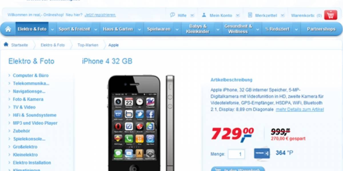 Europa: Venden 6.000 unidades del iPhone 4 con cargadores falsos