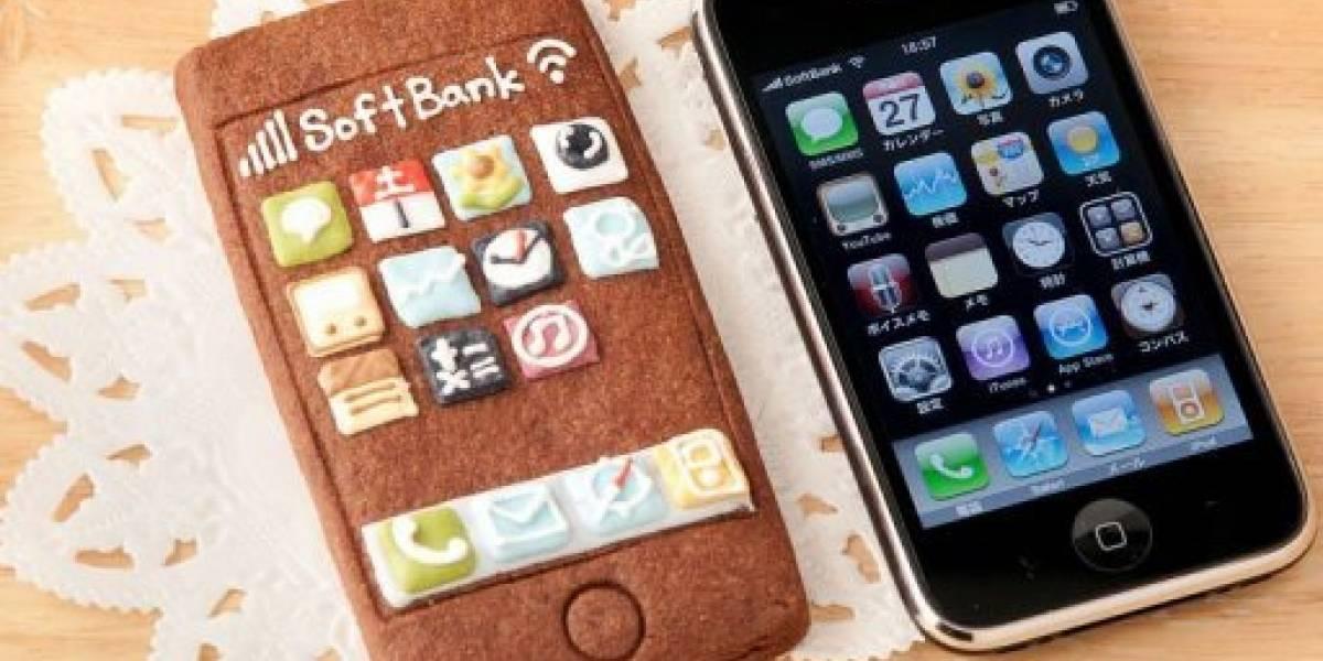 Galletas con forma de iPhone, el dulce geek que arrasa en Japón