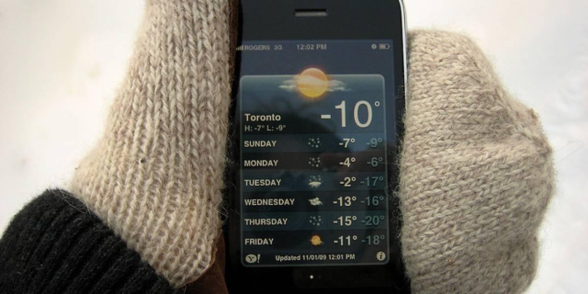 Próximamente las pantallas táctiles podrían detectar el uso con guantes
